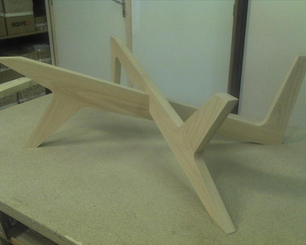 pied de table basse